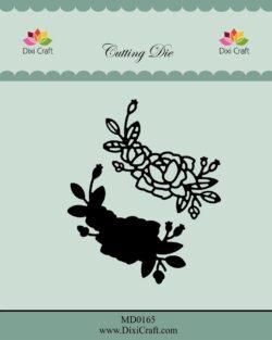 DIXI CRAFT DIE – Roses wtih Outline-4