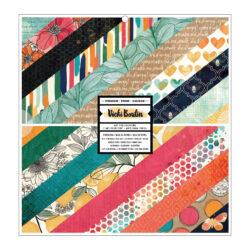 Vicky Boutin – Wildflower & Honey paper pad 30,5 x 30,5 cm