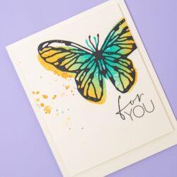 Sizzix/Tim Holtz Die – Scribbly Butterflies