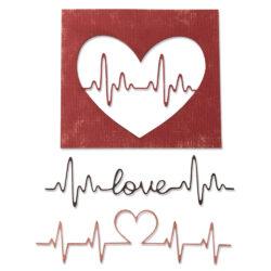 Sizzix/Tim Holtz Die – Heartbeat