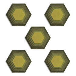 Sizzix/Tim Holtz Die – Stacked Tiles, Hexagons