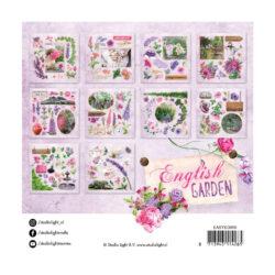 STUDIO LIGHT –  Die cut paper set nr. 659 English garden