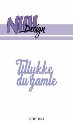 NHH Design Die – Tillykke du gamle