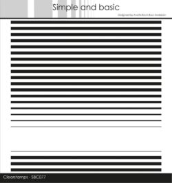 Simple and Basic baggrundsstempel – Stripes