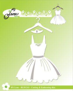 BY LENE DIES – Dress on Hanger