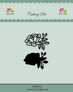 DIXI CRAFT DIE – Roses wtih Outline-2
