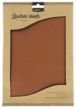 Studio Light Fake Leather – Light Brown