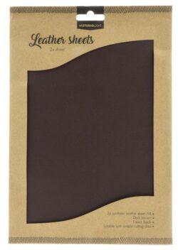 Studio Light Fake Leather – Dark Brown