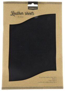 Studio Light Fake Leather – Black