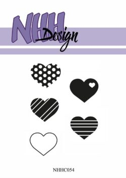 NHH Design Stempel – Hjerter