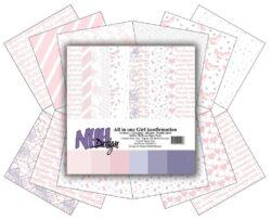 Mønsterpapir – 30,5×30,5 – All in one – Girl Konfirmation
