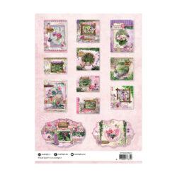 STUDIO LIGHT – Die cut paper set – English Garden