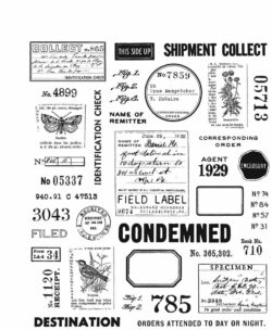 Tim Holtz Stempel – Field Notes