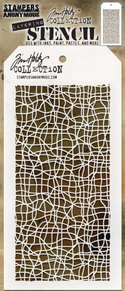 Tim Holtz Layerd Stencil – Tangled