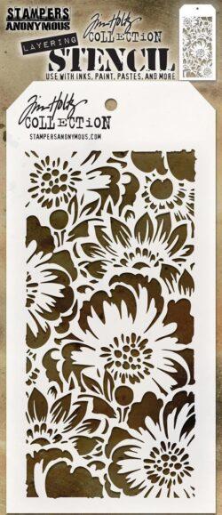 Tim Holtz Layerd Stencil – Bouquet