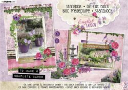 STUDIO LIGHT – Die cut paper set nr. 29 English garden