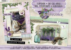 STUDIO LIGHT – Die cut paper set – La Provence