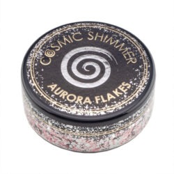 Cosmic Shimmer Aurora Flakes – Icy Pink