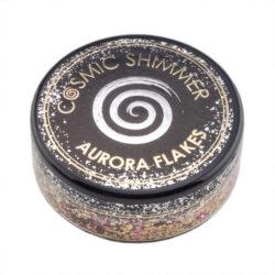 Cosmic Shimmer Aurora Flakes – Golden Rose
