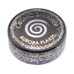 Cosmic Shimmer Aurora Flakes – Frosted Violet