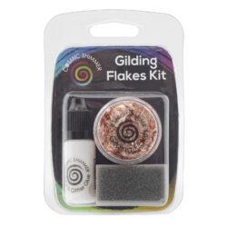 Cosmic Shimmer Gilding Flakes Kit – Copper Kettle