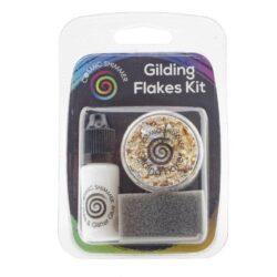 Cosmic Shimmer Gilding Flakes Kit – Egyptian Gold
