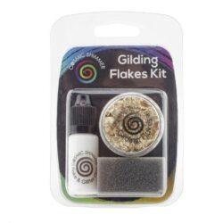 Cosmic Shimmer Gilding Flakes Kit – Golden Jewels