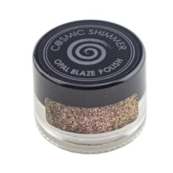 Cosmic Shimmer Opal Blaze Polish – Golden Blackberry