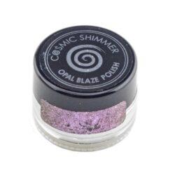Cosmic Shimmer Opal Blaze Polish – Pink Blueberry