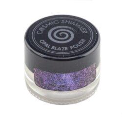 Cosmic Shimmer Opal Blaze Polish – Sapphire Grape