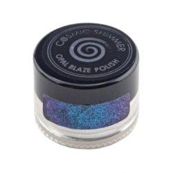 Cosmic Shimmer Opal Blaze Polish – Teal Raspberry