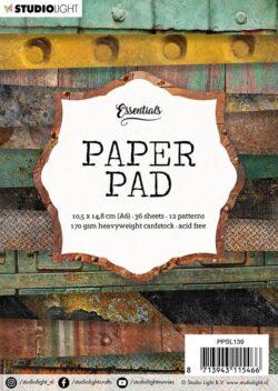 STUDIO LIGHT PAPER PAD – A6 – PPSL139