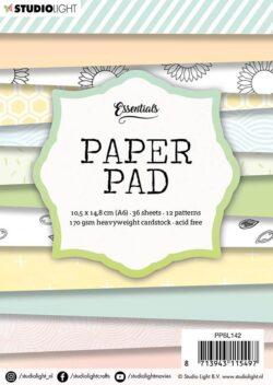 STUDIO LIGHT –  Paperpad – A6 – PPSL142