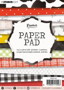 STUDIO LIGHT –  Paperpad – A6 – PPSL143