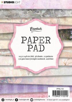 STUDIO LIGHT PAPER PAD – A6 – PPSL144