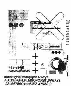 Tim Holtz Stempel – Glitch 2