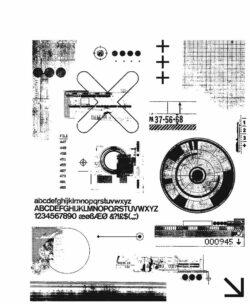 Tim Holtz Stempel – Mini Glitch