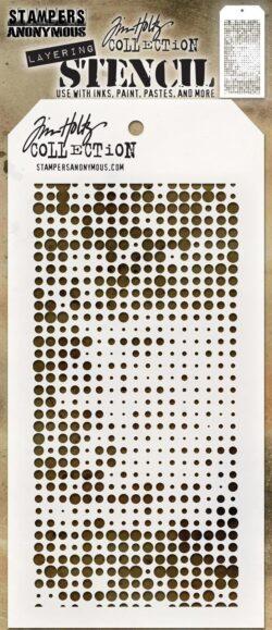 Tim Holtz Layerd Stencil – Halftone