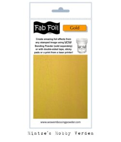 WOW! Fab Foil – Bright Gold