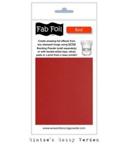 WOW! Fab Foil – Red