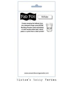 WOW! Fab Foil – Snowy White