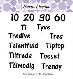 Barto Design stempel – Ordspil 1