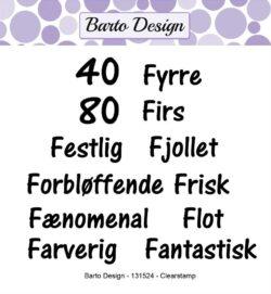 Barto Design stempel – Ordspil 2