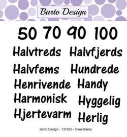 Barto Design stempel – Ordspil 3