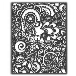 Sizzix/Tim Holtz Die – Doodle Art #2