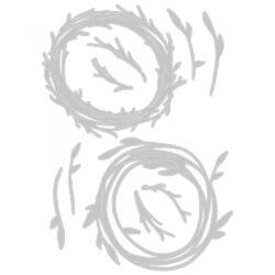 Sizzix/Tim Holtz Die – Funky Wreath