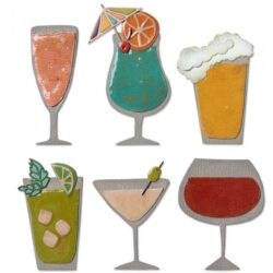 Sizzix/Tim Holtz Die – Happy Hour
