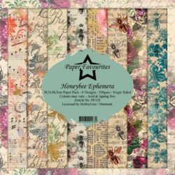 Paper Favourites Paper Pack – 30,5×30,5 cm – Honeybee Ephemera