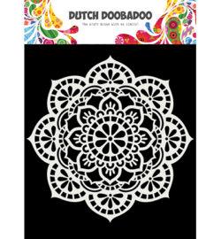 Dutch DooBaDoo Stencil – Mandala