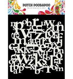 Dutch DooBaDoo Stencil – Letters